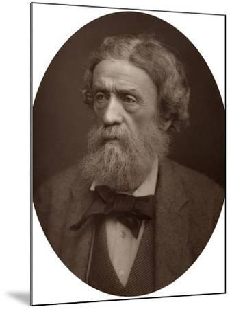 Charles Thomas Newton, Cb, Dcl, Professor of Archeology at University College London, 1883-Lock & Whitfield-Mounted Photographic Print