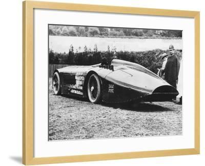 Sunbeam 1000 Hp Car, 1927--Framed Photographic Print