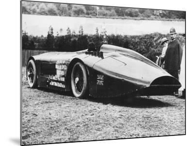 Sunbeam 1000 Hp Car, 1927--Mounted Photographic Print