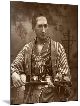 Durward Lely, Scottish Opera Singer, in Gilbert and Sullivan's the Mikado, 1887-Ernest Barraud-Mounted Photographic Print