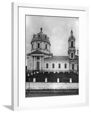 Church of St Simeon Stylites, Near the Yauza River, Moscow, Russia, 1881- Scherer Nabholz & Co-Framed Photographic Print