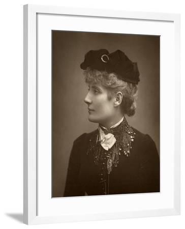 Harriett Jay, British Author and Playwright, 1888-Ernest Barraud-Framed Photographic Print