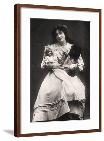 Madge Crichton (B188), Actress, 1906- Lemeilleur-Framed Photographic Print