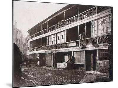 King's Head Inn, Southwark, London, 1881-Henry Dixon-Mounted Photographic Print