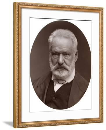 Victor Hugo, French Poet, Dramatist and Novelist, 1877-Lock & Whitfield-Framed Photographic Print