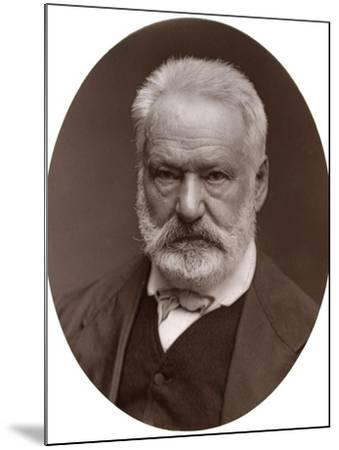 Victor Hugo, French Poet, Dramatist and Novelist, 1877-Lock & Whitfield-Mounted Photographic Print