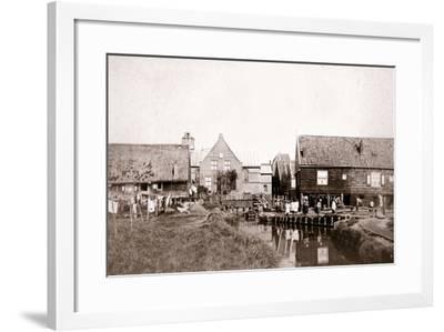 Marken Island, Netherlands, 1898-James Batkin-Framed Photographic Print