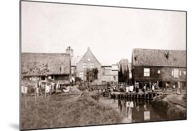 Marken Island, Netherlands, 1898-James Batkin-Mounted Photographic Print