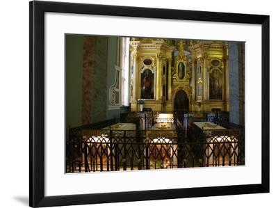 Interior, Peter and Paul Cathedral, St Petersburg, Russia, 2011-Sheldon Marshall-Framed Photographic Print