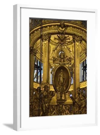Interior Detail, Peter and Paul Cathedral, St Petersburg, Russia, 2011-Sheldon Marshall-Framed Photographic Print