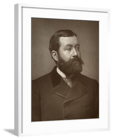 George Robert Sims, British Journalist, Poet, Dramatist and Novelist, 1884--Framed Photographic Print