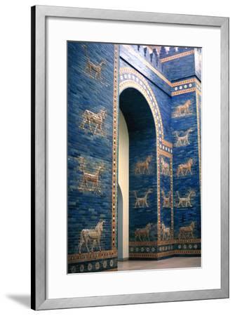 Ishtar Gate, Babylon--Framed Photographic Print