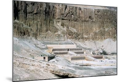 Mortuary Temple of Queen Hatshepsut, Dayr Al-Bahri, Egypt, C1457 Bc--Mounted Photographic Print