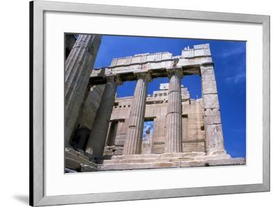 Entrance to the Acropolis, Athens, 5th Century Bc--Framed Photographic Print