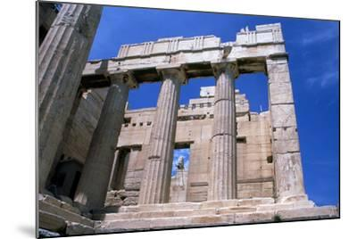 Entrance to the Acropolis, Athens, 5th Century Bc--Mounted Photographic Print