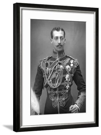 Albert Victor, Duke of Clarence (1864-189), English Prince, C1890--Framed Photographic Print