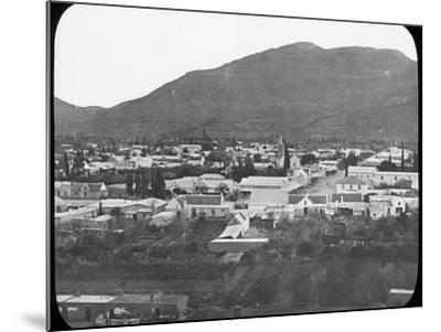 Graaff-Reinet, South Africa, C1890--Mounted Photographic Print