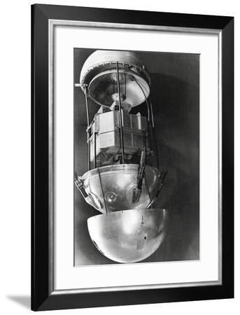 Sputnik 1, Russian Satellite, 1957--Framed Photographic Print