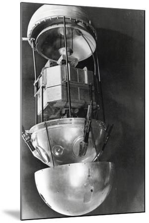 Sputnik 1, Russian Satellite, 1957--Mounted Photographic Print