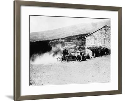 A Rolland-Pilain During the Mont Ventoux Hill Climb, Provence, France, 1909--Framed Photographic Print