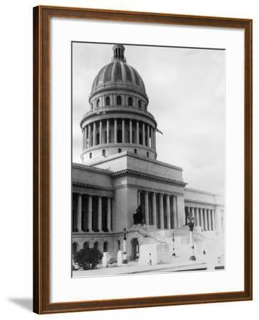 El Capitolio, Havana, Cuba, 1931--Framed Photographic Print