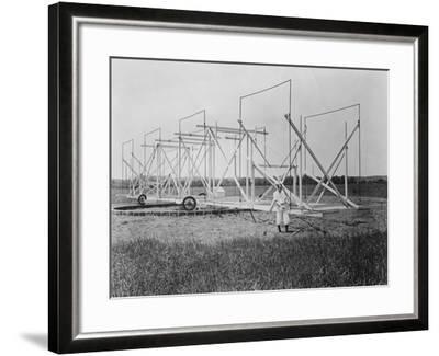 Karl Guthe Jansky, American Physicist and Radio Engineer, C1940--Framed Photographic Print