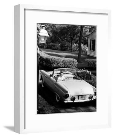 Ford Thunderbird, 1955--Framed Photographic Print