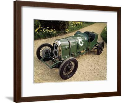 1922 Aston Martin Grand Prix Racing Car--Framed Photographic Print