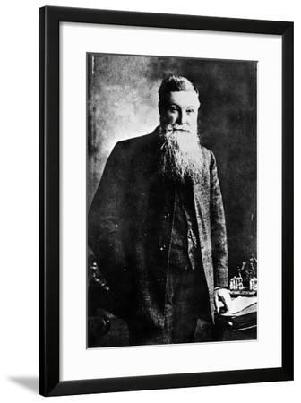 John Boyd Dunlop, (C1900)--Framed Photographic Print