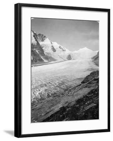Grossglockner, Hohe Tauern, Austria, C1900s-Wurthle & Sons-Framed Photographic Print
