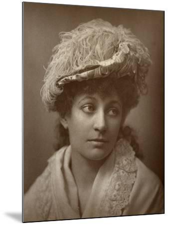 Lucy Buckstone, British Actress, 1884--Mounted Photographic Print