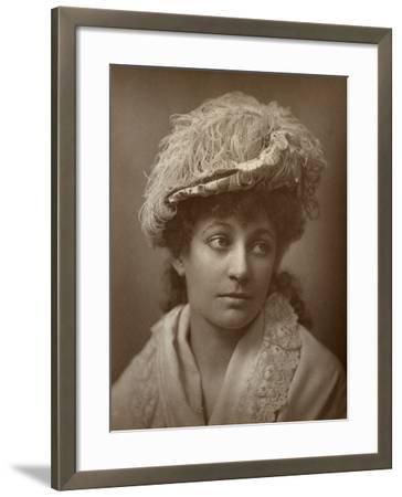 Lucy Buckstone, British Actress, 1884--Framed Photographic Print