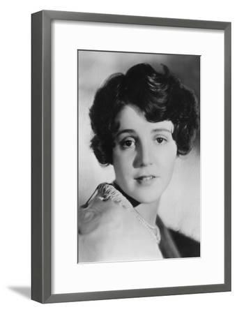 Sue Carol (1906-198), Amerian Actress, 20th Century--Framed Photographic Print