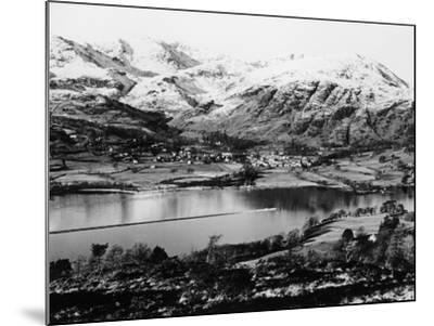 Bluebird K7 on Coniston Water, Cumbria, Possibly Christmas Day, 1966--Mounted Photographic Print