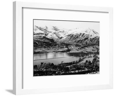 Bluebird K7 on Coniston Water, Cumbria, Possibly Christmas Day, 1966--Framed Photographic Print