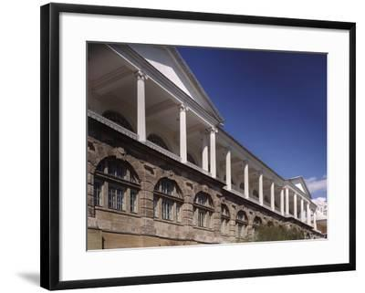 Cameron Gallery at the Catherine Palace in Tsarskoye Selo. Colonnade of the Top-Floor, 1783-1785-Charles Cameron-Framed Photographic Print