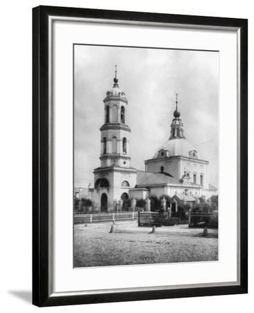 Church of St Nicholas the Miracle Maker, Kobylskoye, Moscow, Russia, 1882- Scherer Nabholz & Co-Framed Photographic Print