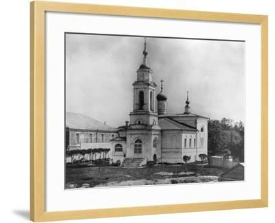 Church of Sabbas the Sanctified, on the Maidens' Field, Moscow, Russia, 1882- Scherer Nabholz & Co-Framed Photographic Print