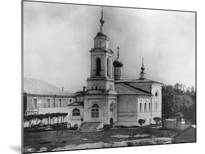 Church of Sabbas the Sanctified, on the Maidens' Field, Moscow, Russia, 1882- Scherer Nabholz & Co-Mounted Photographic Print