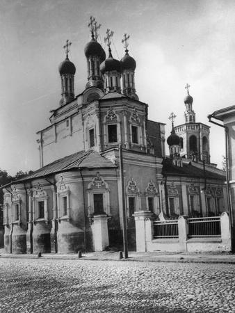 Church of St Sergius of Radonezh at the Big Dmitrovka, Moscow, Russia, 1881- Scherer Nabholz & Co-Framed Photographic Print