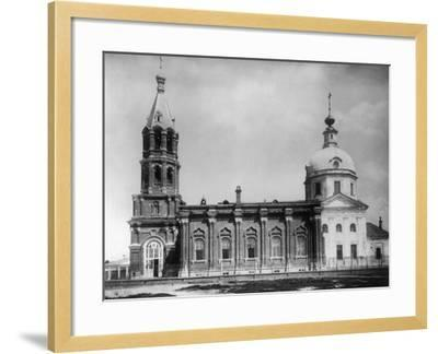 Church of St Nicholas the Miracle Maker, New Vagankovo, Moscow, Russia, 1882- Scherer Nabholz & Co-Framed Photographic Print
