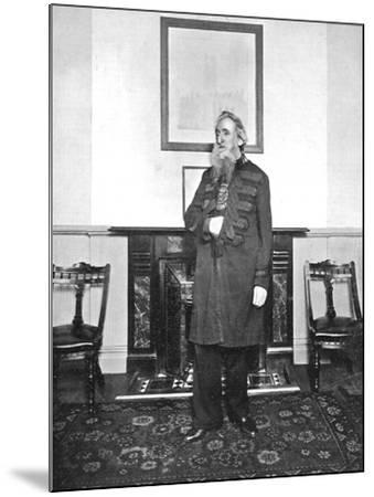 General William Booth, Evangelical Social Worker and Founder of the Salvation Army, 1903--Mounted Photographic Print