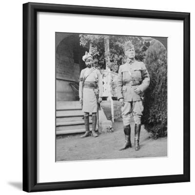 Lord Roberts, Commander in Chief of British Armies, South Africa, Boer War, 1900-1901-Underwood & Underwood-Framed Photographic Print