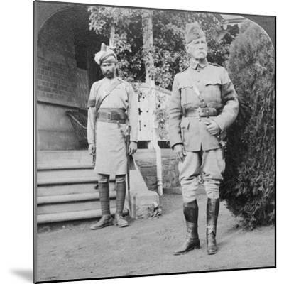 Lord Roberts, Commander in Chief of British Armies, South Africa, Boer War, 1900-1901-Underwood & Underwood-Mounted Photographic Print