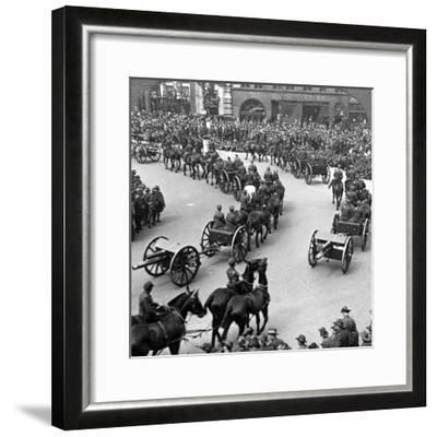 Commemoration of the End of World War I, London, 1919--Framed Photographic Print