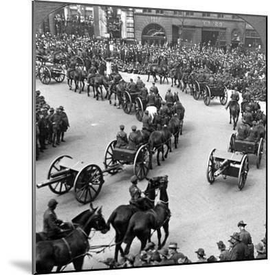 Commemoration of the End of World War I, London, 1919--Mounted Photographic Print