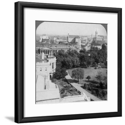 Washington Dc., USA, 1902-Underwood & Underwood-Framed Photographic Print