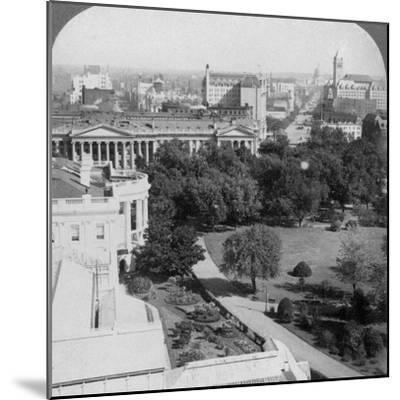 Washington Dc., USA, 1902-Underwood & Underwood-Mounted Photographic Print