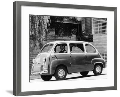 1963 Fiat 600 Multipla, (C1963)--Framed Photographic Print