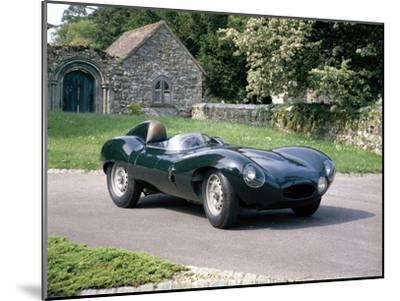 1954 Jaguar D Type--Mounted Photographic Print